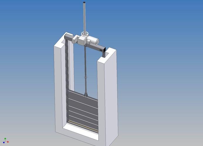 Sluice gates - Papay Technology Ltd. - EN